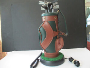 Phone--Golf Bag Stand Phone--New Condition--Works Great