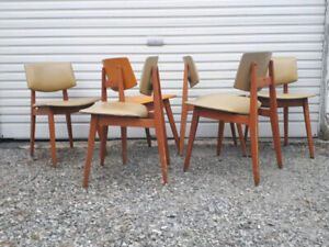 6 Jan Kuypers Imperial Chairs Mid Century Modern