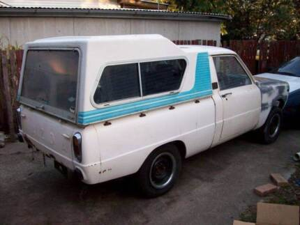 rare mazda 1000 ute fibreglass canopy only for a f1000 Caboolture Caboolture Area Preview