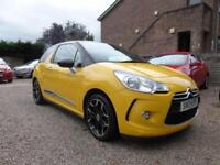 CITROEN DS3 1.6 d style+E-hdi 2013 Diesel Manual in Yellow