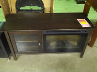 TV Console with Fireplace - 50% OFF!
