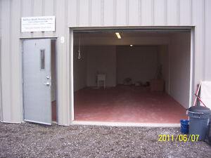 Shop Space w/ OH & Man Door, Washroom,