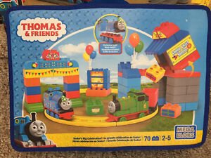 New! Thomas & Friends mega Bloks Sodor's big celebration bag set