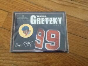 2011 WAYNE GRETZKY COLOURED 25 CENT COLOURED COIN