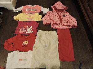 18-24 mth girl Fall/Winter clothing Lot