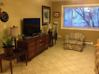 Furnished 2 bdrm appt in Moncton, everything included!!!