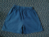 Boys Size 2 Navy Cotton Short
