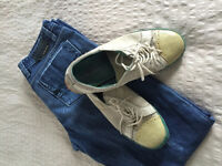 Diesel Jeans and shoes