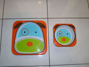 PLATE & BOWL (CHILDS) - SKIP HOP ZOO