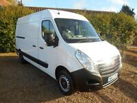 2013 VAUXHALL MOVANO 2.3CDTI 125BHP REAR RAMP AND WINCH 1 OWNER FSH 79000 MILES