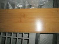 5 boites de plancher bamboo/ 5 boxes bamboo flooring