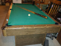 pool table, non slate for sale