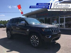 2018 Jeep Grand Cherokee Limited  NAV - LEATHER - PANO ROOF