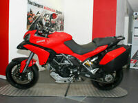 2013 '13 Ducati Multistrada 1200S Touring ABS. Safety Pack, Panniers. £8,495