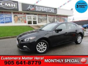 "2014 Mazda Mazda3 GS-SKY  MANUAL CAMERA 16""-ALLOYS POWER GROUP"