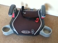 Graco child seat/booster