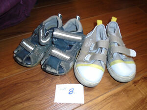Boys shoes size 8    All  $2  ***2