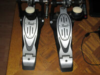2 pearl 900 series powershifter bass pedals
