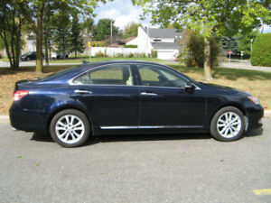 2010 Lexus ES 350 Sedan  Black Sapphier, (dark blue)
