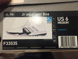 Adidas Junior Golf Shoes