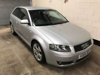 Audi A3 2.0 tdi Sport, 13 Stamps in the book, 6 Speed, Bose sound system, Air Con, 3 Month warranty