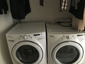 High efficiency washer dryer set Whirl Pool