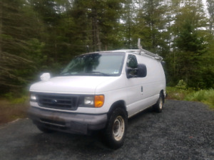 2004 cargo van for sale with roof rack