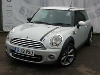 2012 MINI HATCH 1.6 COOPER TD LONDON 2012 EDITION DIESEL 10 SERVICE STAMPS LAST