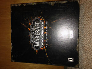 World of Warcraft Cataclysm collectors edition-used