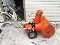 Parting out 826 Ariens snowblower