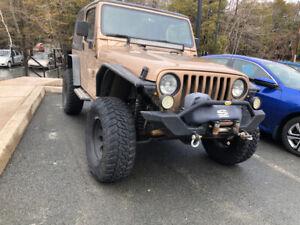 2000 Jeep Wrangler TJ (Price Drop)