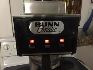 Bunn Coffee machines in-line pour through models