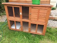 Rabbit Hutch & Accessories