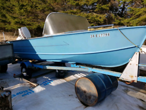 14' boat/motor/trailer for sale