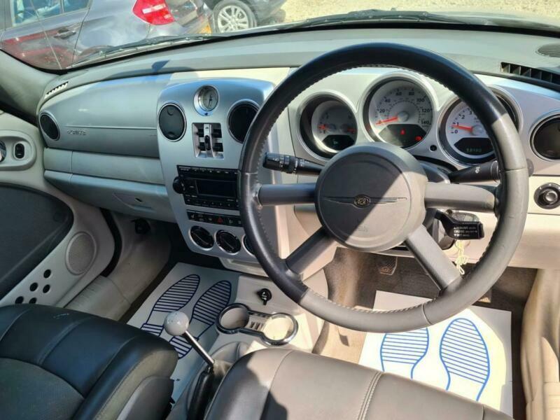 2007 Chrysler PT Cruiser Limited 2.4 Convertible Petrol Manual