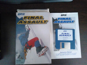 Final Assault (Jeu pour Atari ST vintage)