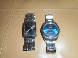 Mens Guess & Stuhrling watches