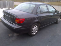 2001 SATURN LOW km ONLY 90.0000, CERTIFIED