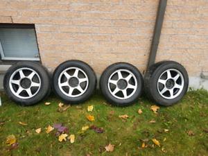 4 mags pneus sont pas bons