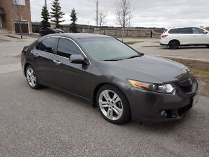 2010 Acura TSX V6 Premium Sedan, clean, low kms
