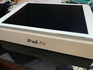 ! Apple iPad Air A1474 (32 GB, Wi-Fi+cellular, White with Silver