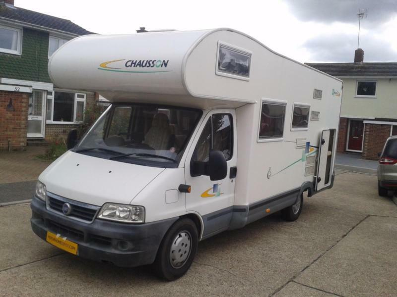 Chausson Welcome, Sleeps 6, Bunk Beds, Large Garage, New Cam Belt,