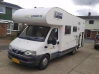 Chausson Welcome 17, Sleeps 6, Bunk Beds, Large Garage, New Cam Belt,