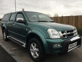 ISUZU RODEO 3.0 TURBO DIESEL (2004 54) DENVER 4 DOOR CREW CAB PICKUP 4X4