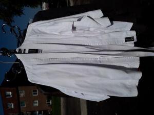 2x Kimonos tout blanc 4/170 - Pour Adulte