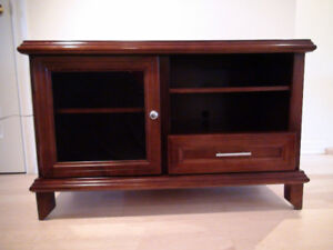 Entertainment Console / TV Table cherry solid wood