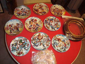 2 sets of collectors plates and jean ratelle plate Kingston Kingston Area image 1