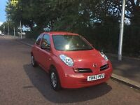 NISSAN MICRA 53 PLATE 34K MILES ONLY STARTS N DRIVES FOR SPARES OR REPAIR sorry NO OFFERS