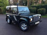 1996 Land Rover Defender 90 County Hard Top 300 Tdi Epsom Green