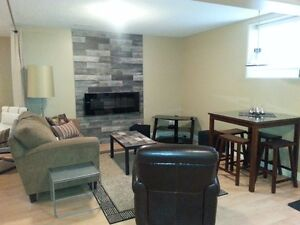 SPACIOUS MODERN 1 BDRM STUDIO BASEMENT SUITE-AVAIL MAY 1/2017